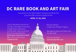 DC Rare Book and Art Fair 2020