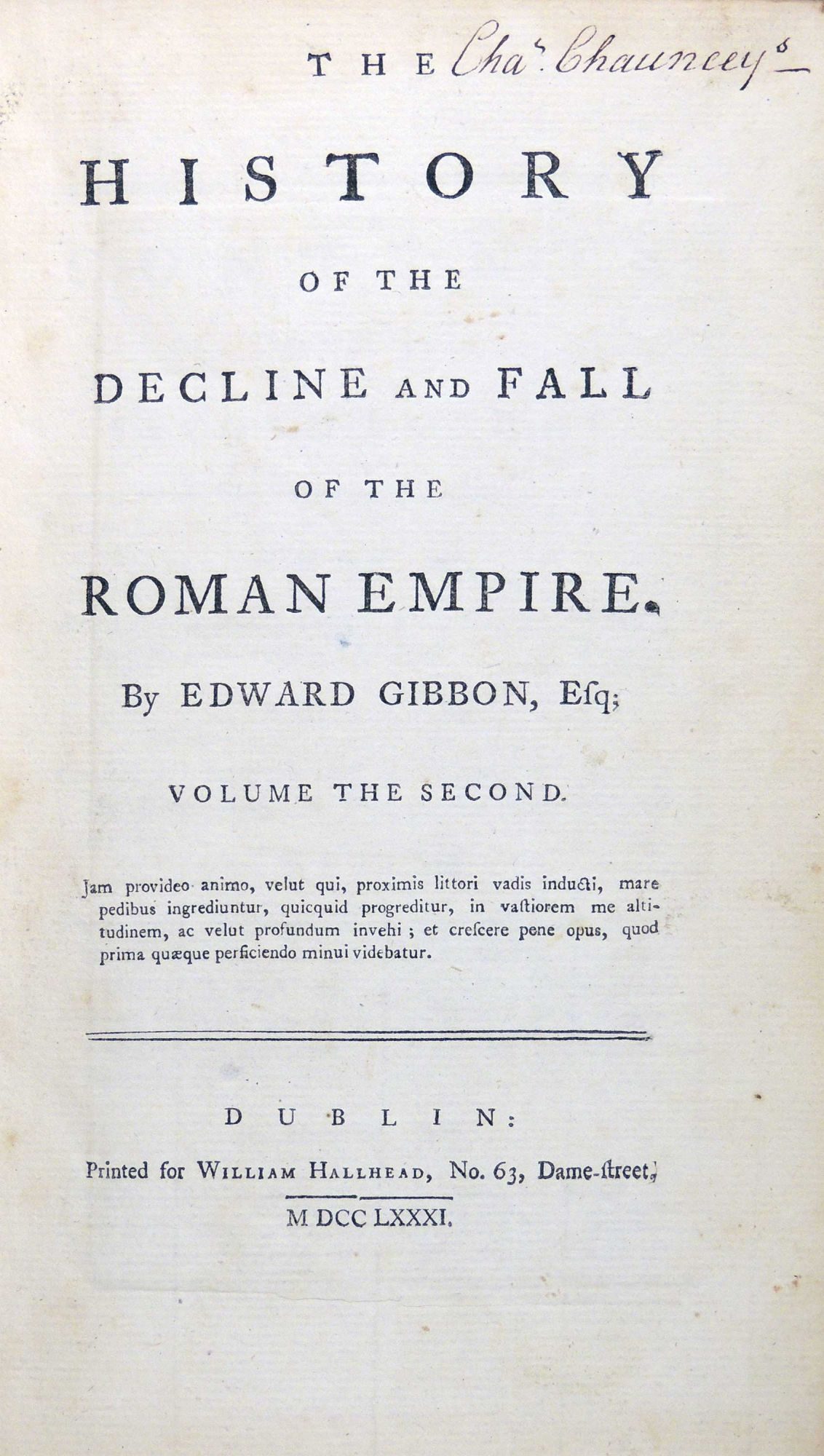 a history of the decline and fall of the roman empire The history of the decline and fall of the roman empire a new edition london: printed for a strahan and t cadell, in the strand, 1788.
