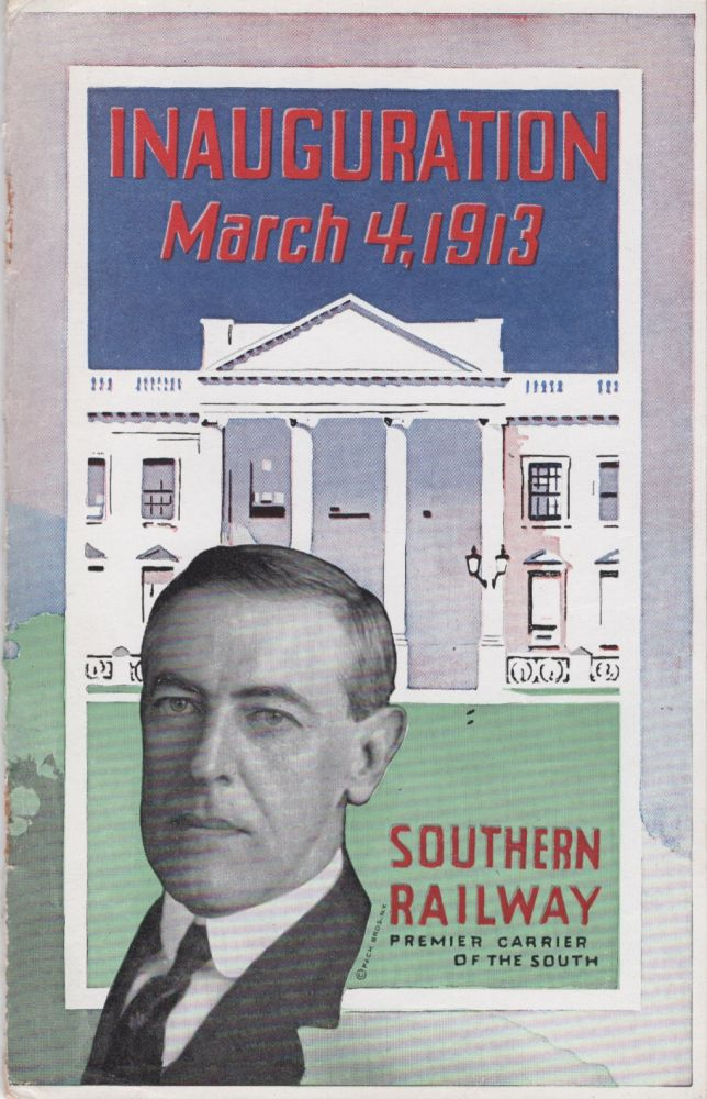 Ceremonies Incident to the Inauguration of Woodrow Wilson as President and Thomas R. Marshall as Vice-President of the United States. Washington at a Glance. Unknown.