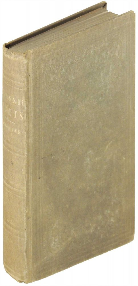 Introductions to the Study Of the Greek Classic Poets Designed Principally for the Use of Young Persons at School and College. Henry Nelson Coleridge.