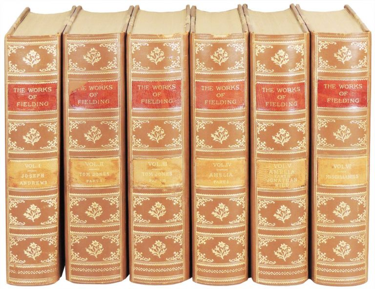 The Works of Henry Fielding. 6 volumes. (12 parts printed in 6 volumes). Henry Fielding.