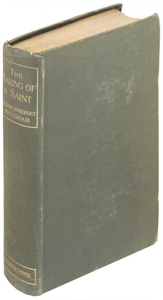 The Making of a Saint. William Somerset Maugham.