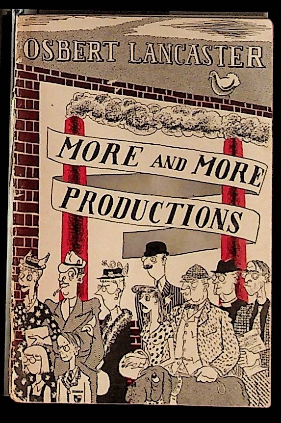 More and More Productions. Osbert Lancaster.