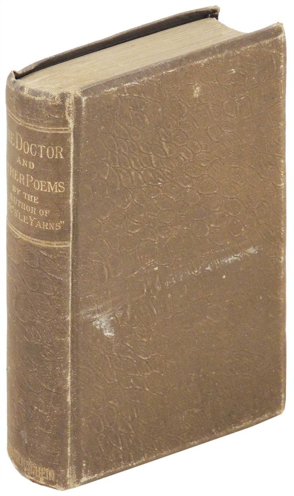 The Doctor and Other Poems. T. E. Brown, Thomas Edward.