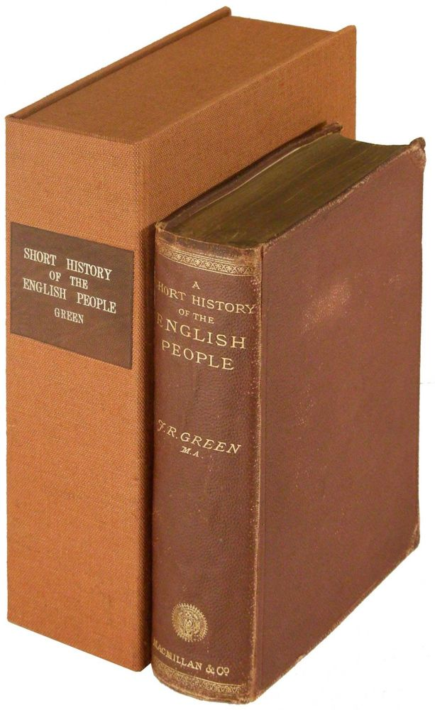 A Short History of the English People. J. R. Green, M. A.