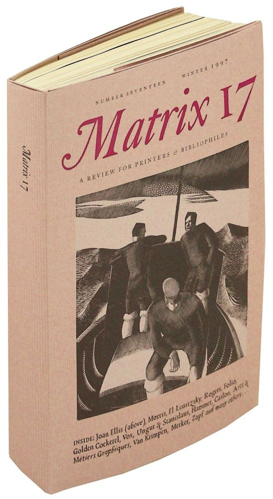 Matrix 17 A Review for Printers & Bibliophiles. Whittington Press.