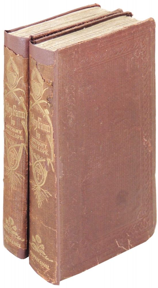 Orley Farm. 2 volumes. Anthony Trollope, J E. Millais.