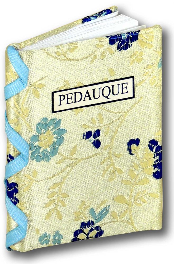 Pedauque. Bo Press Miniature Books, Prue Batten, book artist Pat Sweet.