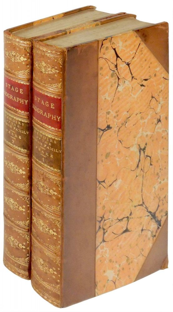 Memoirs of the Colman Family, Including Their Correspondence with the Most Distinguished Personages of Their Time. Two Volumes. George Colman, Richard Brinsley Peake.