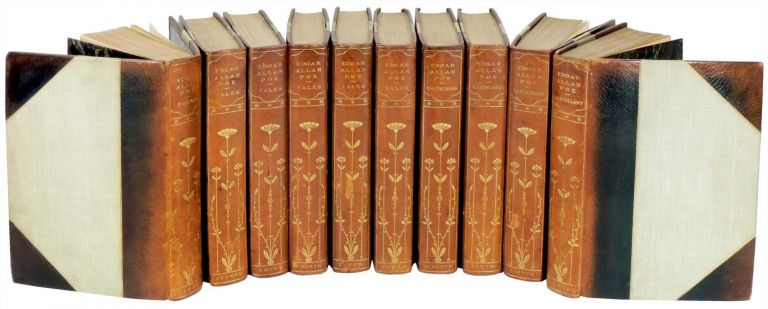 The Complete Works of Edgar Allan Poe. 10 Volumes. Edgar Allan Poe, introduction Charles F. Richardson, Frederick Simpson Coburn.