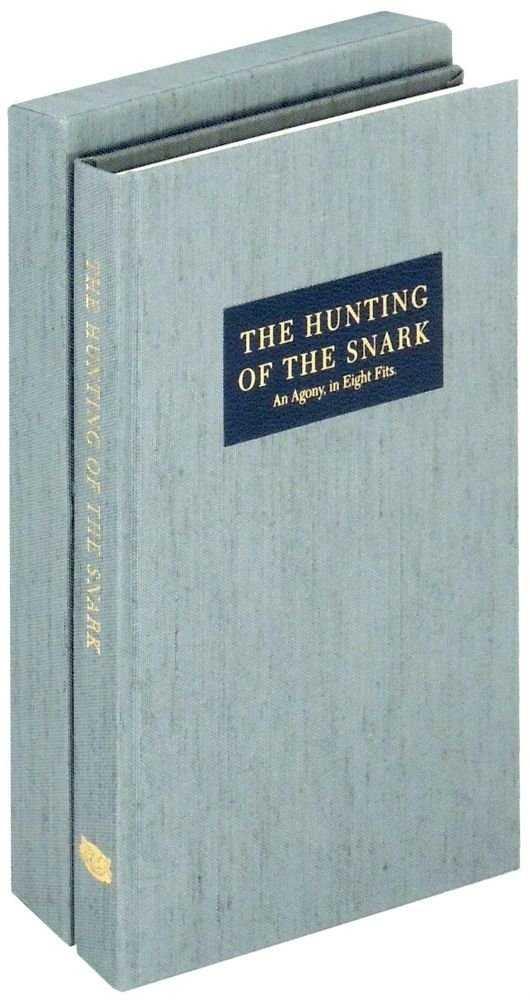The Hunting of the Snark: An Agony in Eight Fits. Cheshire Cat Press, Lewis Carroll, introduction Mark Burstein, George A. Walker.