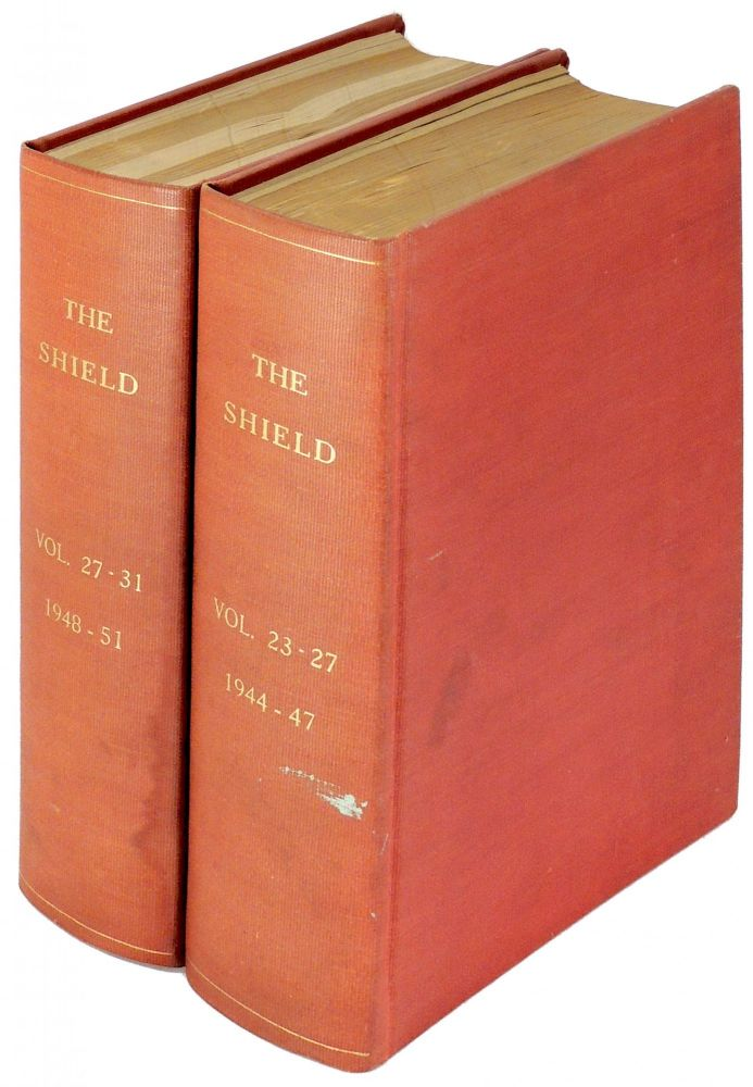 The Shield: Volumes 23 - 31 (National Magazine of the Catholic Students' Mission Crusade U.S.A) (Bound into 2 volumes). Catholic Students' Mission Crusade.