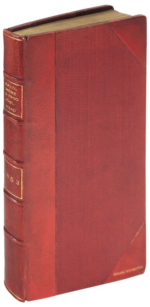 A History and Description of the Baltimore and Ohio Rail Road; with an Appendix, Containing a Full Account of the Ceremonies and Procession Attending the Laying of the Corner-Stone by Charles Carroll, of Carrollton, on the Fourth of July 1828, and an Original and Complete Report of the Great Opening Celebration at Wheeling, January, 1853. William Prescott Smith.