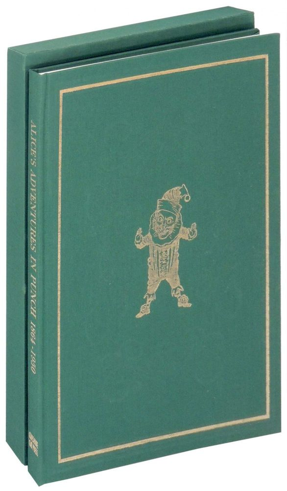 Alice's Adventures in Punch 1864-1950. Cheshire Cat Press, George Walker, designers Andy Malcolm, printers, introduction Edward Wakeling.