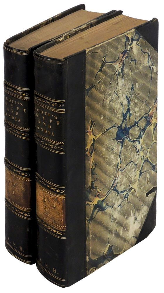 Rambles in Egypt and Candia, with Details of the Military Power and Resources of Those Countries, and Observations on the Government, Policy, and Commercial System of Mohammed Ali Two Volumes. C. Rochfort Scott, Captain H. P. Royal Staff Corps.