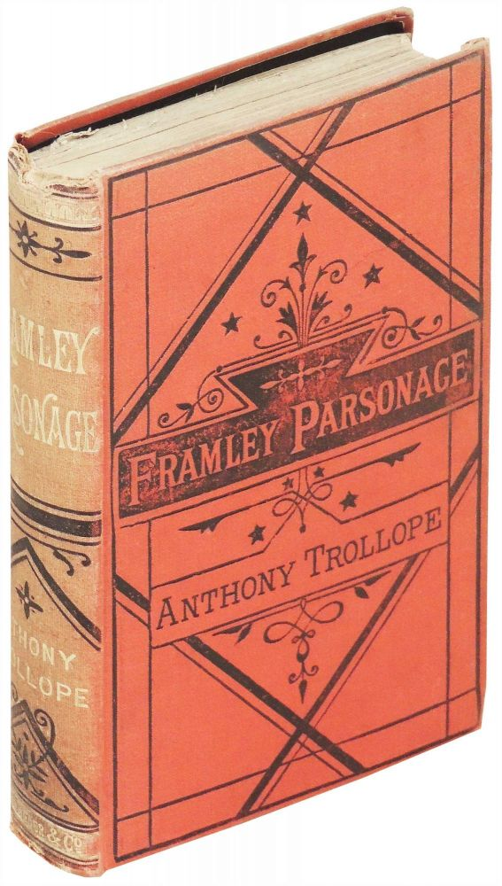 Framley Parsonage. Anthony Trollope.