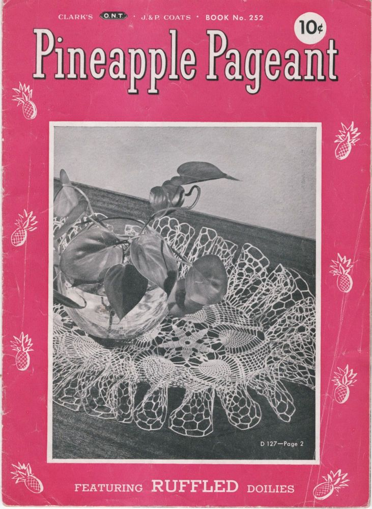 Pineapple Pageant. Book No. 252. Unknown.
