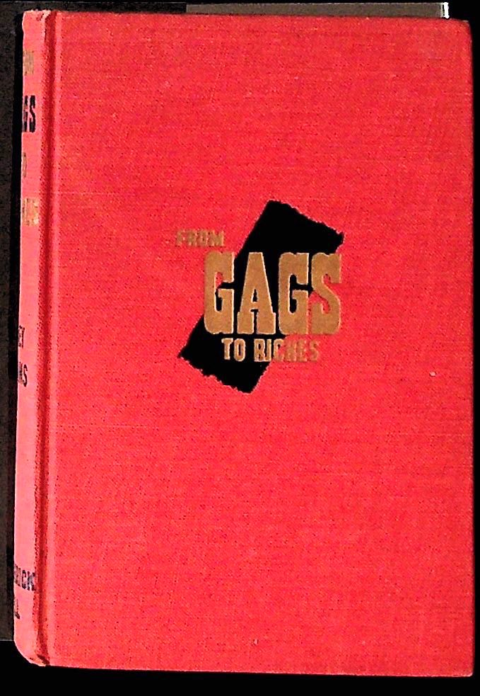 From Gags to Riches. Joey Adams.