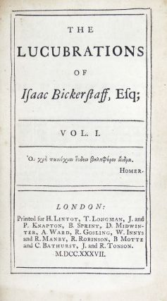 The Tatler. The Lucubrations of Isaac Bickerstaff, Esq. (4 volumes)