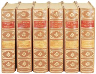 The Works of Henry Fielding. 6 volumes. (12 parts printed in 6 volumes). Henry Fielding