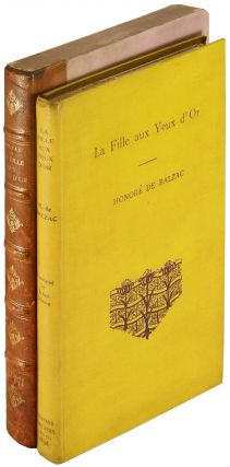 La Fille aux Yeux d'Or [The Girl with the Golden Eyes]. Honore de Balzac, Ernest Dowson, Charles Conder, illustrator.