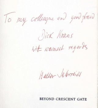 Beyond Crescent Gate: Fifteen American Poems