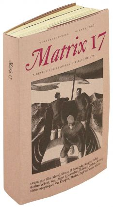 Matrix 17 A Review for Printers & Bibliophiles. Whittington Press