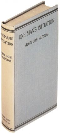 One Man's Initiation. John Dos Passos