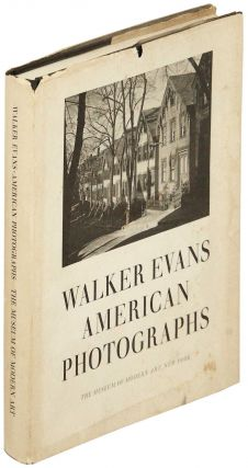 Walker Evans American Photographs. Walker Evans, Lincoln Kirstein, Monroe Wheeler, introduction,...