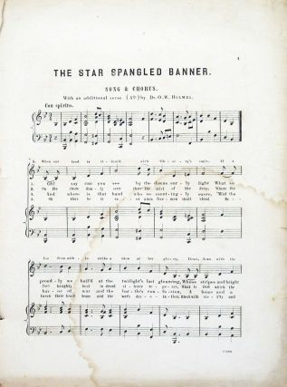 Star Spangled Banner From National Music Series