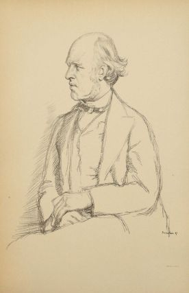 Seventeen Original Lithographs from the book English Portraits. William Rothenstein.