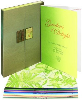 Gardens of Delight. Bouquets of Flora and Botanical Poetry. Bay Park Press, Sibyl Rubottom, Jim Machacek.