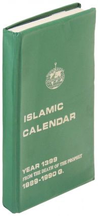 Islamic Calendar: Year 1399 From the Death of the Prophet 1989-1990 G.