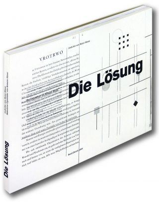 Die Lösung: Makulatur Typobilder or The Solution: 6 Waste Paper Typographic Pictures. Heinz Hänni, Romano Hänni.