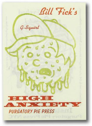 Bill Fick's High Anxiety. InstaBook 2. Purgatory Pie Press, Bill Fick