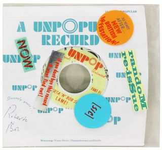 "UnPopular Recurd [sic]. Purgatory Pie Press, Dikko Faust, Esther K. Smith, ""Bob, Roberta Smith"""