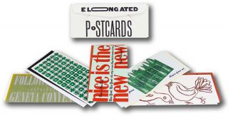 Elongated Postcards Boxed Set [12 Cards]. Purgatory Pie Press