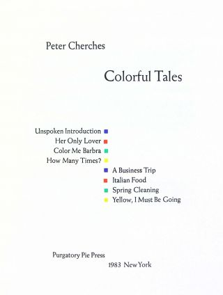Colorful Tales