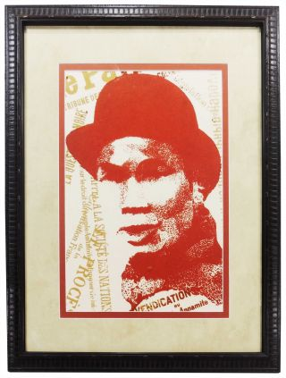Ho Chi Minh Silk Screen Print
