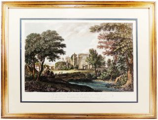 Framed Print of Rothesay Castle in Scotland. Unknown
