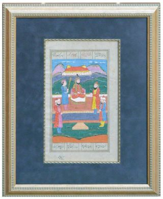 Persian Miniature - Shahnama. Unknown