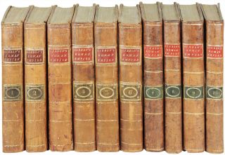 The History of the Decline and Fall of the Roman Empire. 10 volumes. Edward Gibbon