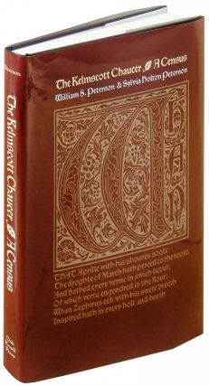 The Kelmscott Chaucer: A Census. William S. Peterson, Sylvia Holton Peterson