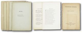 Group of Eight Privately Printed Works]. Vernon Lushington