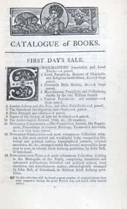The Thomas Bell Library. The Catalogue of 15,000 Volumes of Scarce & Curious Printed Books, and Unique Manuscripts, Comprised in the unrivalled Library collected by the late Thomas Bell, Esq. F.S.A. Between the Years 1797-1860