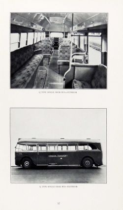 London Passenger Transport Board. Third Annual Report and Statement of Accounts and Statistics for the Year Ended 30 June 1936