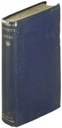 Poems. W. C. Bennett, William Cox