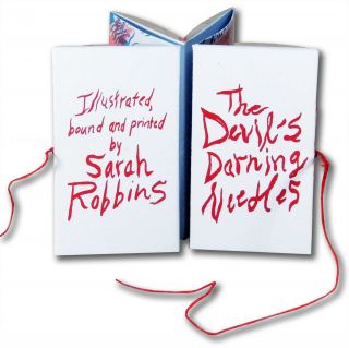 Devil's Darning Needles. Sarah Robbins, printed and bound illustrated