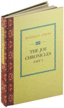 The Joe Chronicles. Part 2. Black Sparrow Press, Rochelle Owens