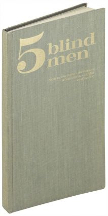 Five blind men: poems by Dan Gerber, Jim Harrison, George Quasha, J.D. Reed, Charlie Simic. Sumac...